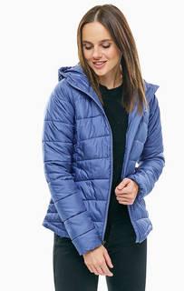 Короткая синяя куртка с капюшоном Karis Gale Columbia