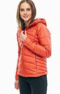Короткая оранжевая куртка с капюшоном Karis Gale Columbia