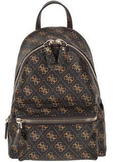 Городской рюкзак с монограммой бренда Guess