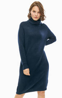Трикотажное платье-свитер с высоким воротом Selected