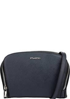 Маленькая сумка из сафьяновой кожи через плечо Fiato