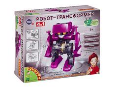 Игра Bondibon Французские опыты Науки с Буки Робот трансформер 4 в 1 ВВ3060