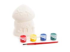 Color Puppy Роспись копилки Домик-грибочек 95405