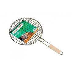 Решетка для гриля с деревянной ручкой green glade 719d