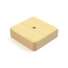 Распаячная коробка tdm 100х100х29 оп сосна sq1401-0407