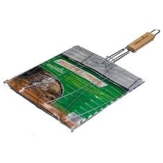 Решетка для гриля с деревянной ручкой green glade 721с