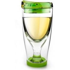 Термокружка asobu ice vino 2go 0.48 л, зеленая iv2g green