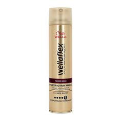 Лак для волос WELLA WELLAFLEX АНТИВОЗРАСТНОЙ ЭФФЕКТ суперсильной фиксации 250 мл