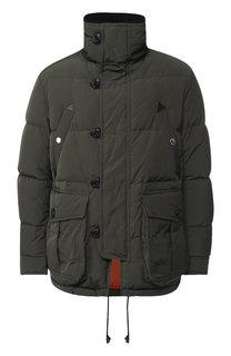 Пуховая куртка на молнии с воротником-стойкой Dsquared2