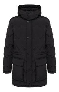 Пуховая куртка на молнии с капюшоном Z Zegna