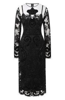 Платья миди Dolce & Gabbana