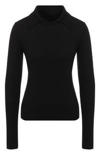 Шерстяной пуловер с отложным воротником Diane Von Furstenberg