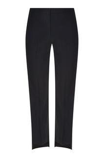 Прямые черные брюки Alexander Mc Queen