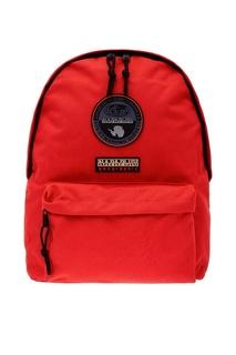 Красный рюкзак с нашивкой Napapijri