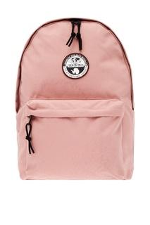 Розовый рюкзак с логотипом Napapijri
