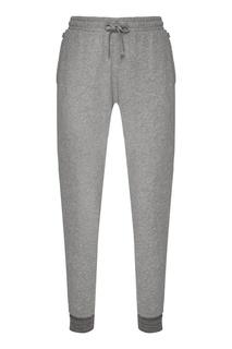 Серые хлопковые брюки Napapijri