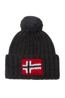 Темно-серая шапка Napapijri