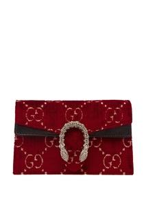Красная сумка Dionysus GG small Gucci