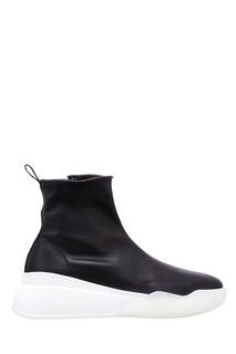 Черные кроссовки-носки Stella Mc Cartney