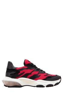 Контрастные кроссовки Valentino