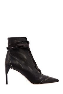 Ботильоны на каблуке Miu Miu – купить в интернет-магазине   Snik.co e8aceef3fc7