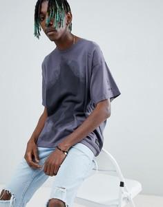 Свободная футболка с камуфляжным принтом Levis Line 8 - Серый