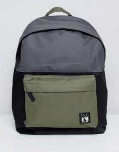 Черный рюкзак с контрастными вставками Nicce - Черный