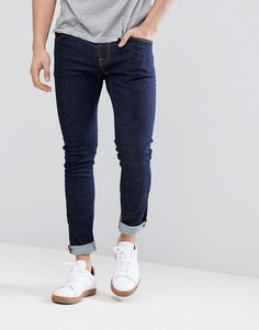 Синие джинсы из саржи Nudie Jeans Co Tight Terry - Темно-синий