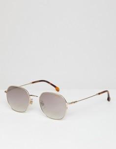 Круглые солнцезащитные очки Carrera - Золотой