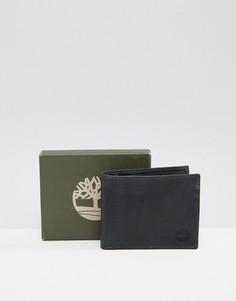 Черный бумажник Timberland Grafton - Черный