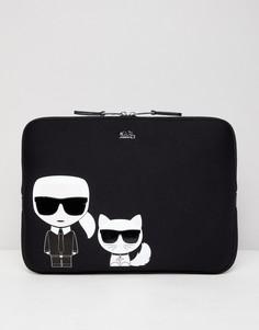 Чехол для ноутбука Karl Lagerfeld - Черный