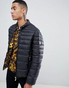 Двусторонняя дутая куртка (черный/золотистый) Versace Jeans - Черный