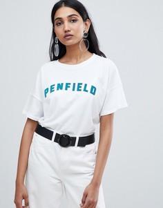 Футболка с логотипом Penfield - Белый