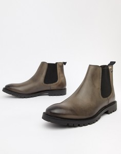 Серые ботинки челси Base London Havoc - Серый