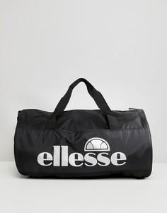 Черная сумка со светоотражающим логотипом ellesse - Черный