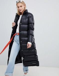 Длинная дутая куртка Calvin Klein Jeans - Черный