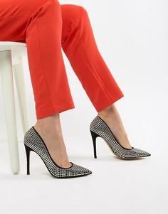 Туфли-лодочки с заклепками ALDO - Черный