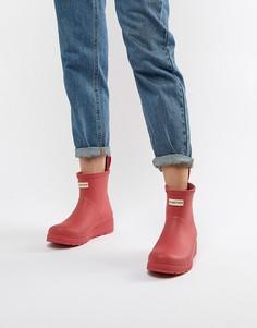 Короткие резиновые сапоги Hunter Original - Красный