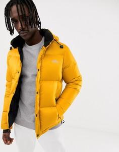 Золотистая дутая куртка со съемным капюшоном Penfield Equinox - Желтый