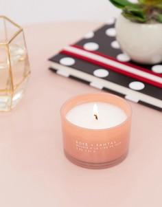 Броская свеча с ароматом розы и сандала Paddywax - 3 унции - Мульти