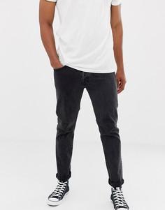 Темные прямые джинсы Nudie Jeans Co - Темно-синий