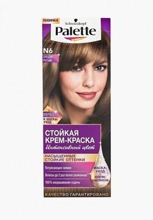 Краска для волос Palette Стойкая N6 Средне-русый, 100 мл