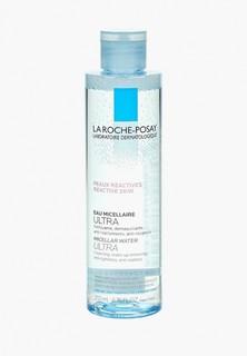 Мицеллярная вода La Roche-Posay ULTRA для чувствительной и склонной к аллергии кожи лица и глаз 200 мл