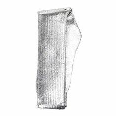 Чулки MM6 MAISON MARGIELA S62TL0002 серебряный