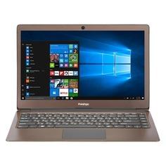 "Ноутбук PRESTIGIO SmartBook 133S, 13.3"", Intel Celeron N3350 1.1ГГц, 3Гб, 32Гб eMMC, Intel HD Graphics 500, Windows 10 Home, PSB133S01ZFH_DB_CIS, темно-коричневый"