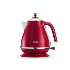 Чайник электрический DELONGHI KBOE2001.R, 2000Вт, красный Delonghi