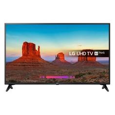 "LED телевизор LG 60UK6200PLA ""R"", 60"", Ultra HD 4K (2160p), черный/ коричневый"