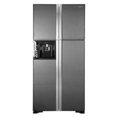 Холодильник HITACHI R-W 662 PU3 GGR, двухкамерный, графитовое стекло