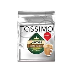 Кофе капсульный TASSIMO JACOBS Cafe au Lait, капсулы, совместимые с кофемашинами TASSIMO®, 184грамм [4251500]