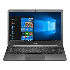 "Ноутбук PRESTIGIO SmartBook 141S, 14.1"", Intel Celeron N3350 1.1ГГц, 3Гб, 32Гб eMMC, Intel HD Graphics 500, Windows 10 Professional, PSB141S01ZFP_DG_CIS, темно-серый"